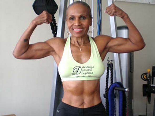 definição muscular idosa