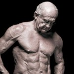 senhor de idade definição muscular